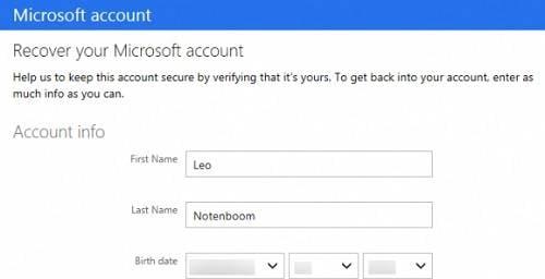 retrouver un mot de passe hotmail