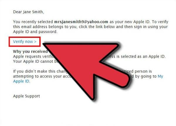 Reset iCloud Email