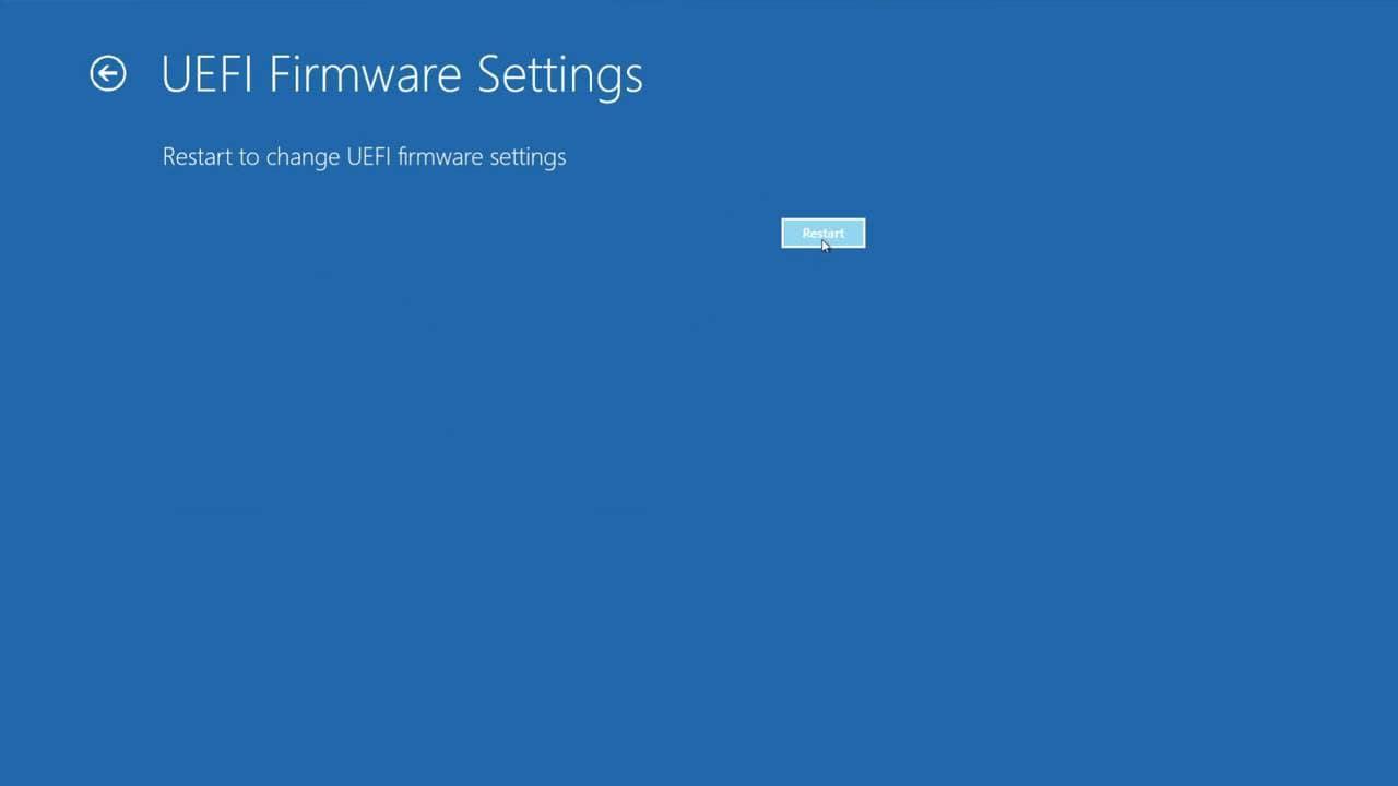 comment accéder au BIOS étape 8