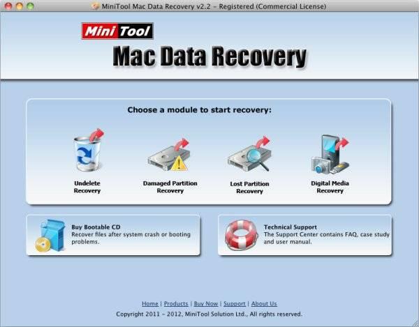 MiniTool per recuperare file formattati da USB su Mac