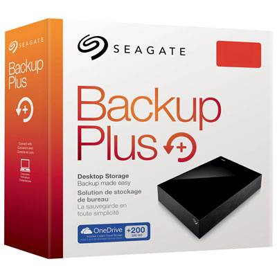 Backup seagate mais unidade de desktop
