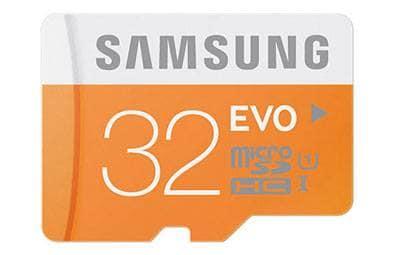 Tarjeta de Memoria Samsung EVO de 32 GB