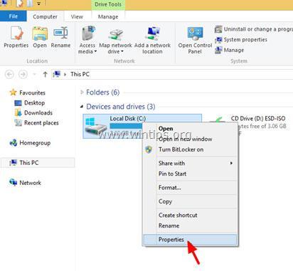 résoudre les problèmes du disque dur avec chkdsk - étape 2