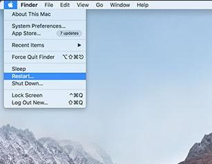 réinitialiser macbook pro