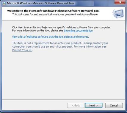 Tool zum Löschen von Malware und Viren installieren