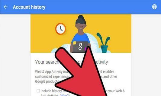 apaga el historial de listados de búsquedas