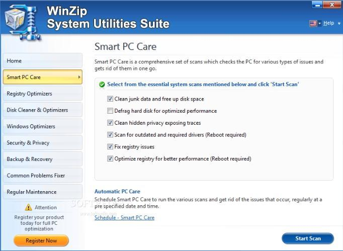 System Utilities Suite para Eliminar Archivos No Deseados de Windows