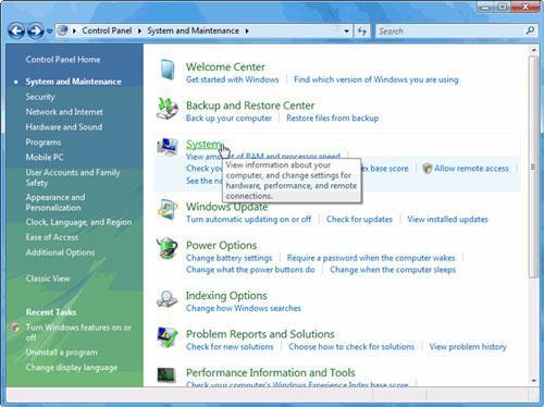 restaura archivos eliminados con la restauración del sistema