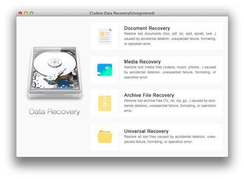 recuperación de datos cisdem para mac