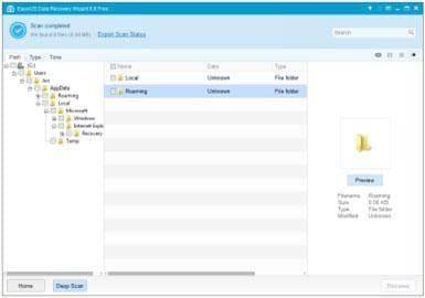 Software gratuito para recuperación de tarjetas de memoria: Ease US data recovery