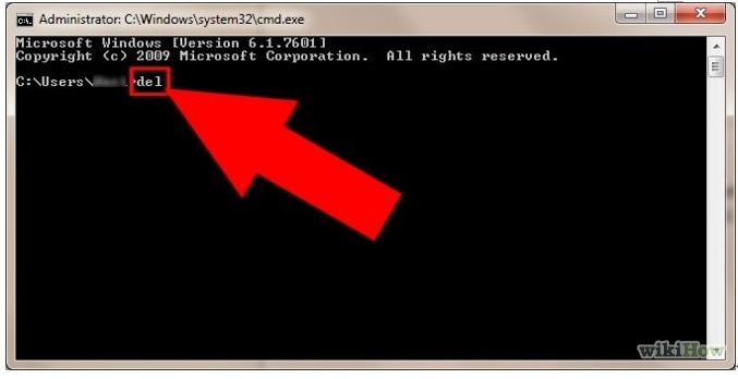 Ejecuta cmd para eliminar archivos y carpetas