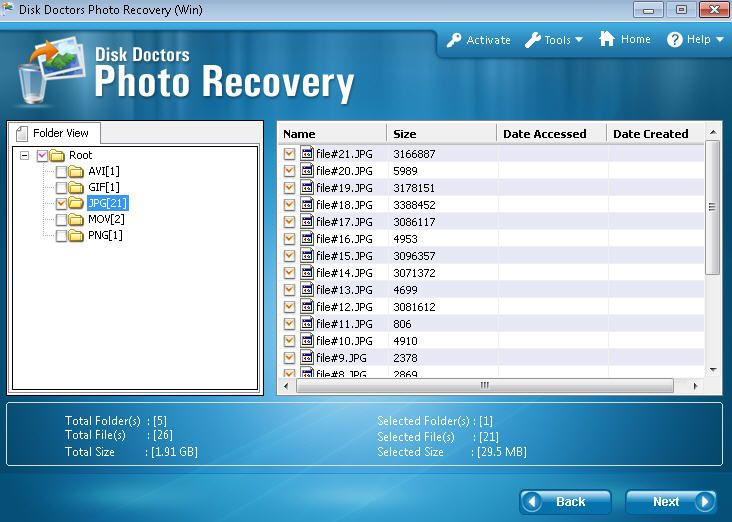 Disk Doctor Android Photo Recovery