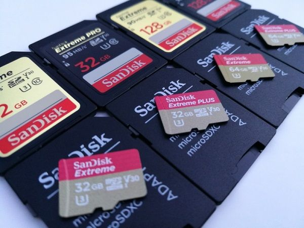 Drone sd card for photo recovery