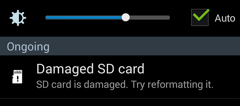 repair SD card errors