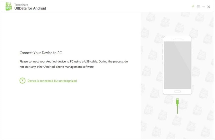 Tenoshare data recovery für Android