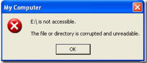 the USB drive is no accessible