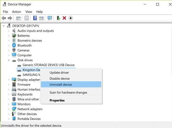 entfernen Sie das Flash-Laufwerk von Ihrem PC