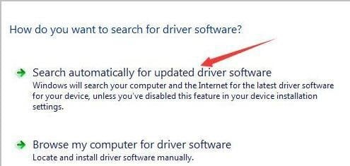 automatically update driver software