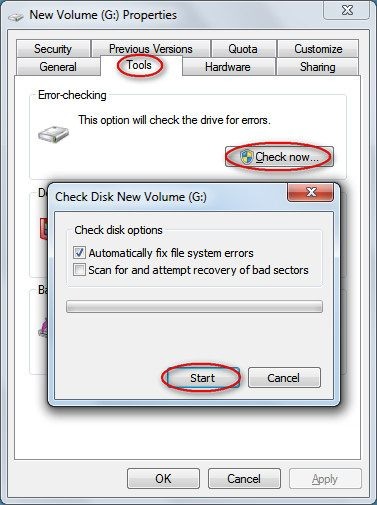 change file extensions to recover 0 byte files
