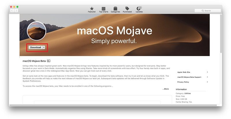 download-latest-macos
