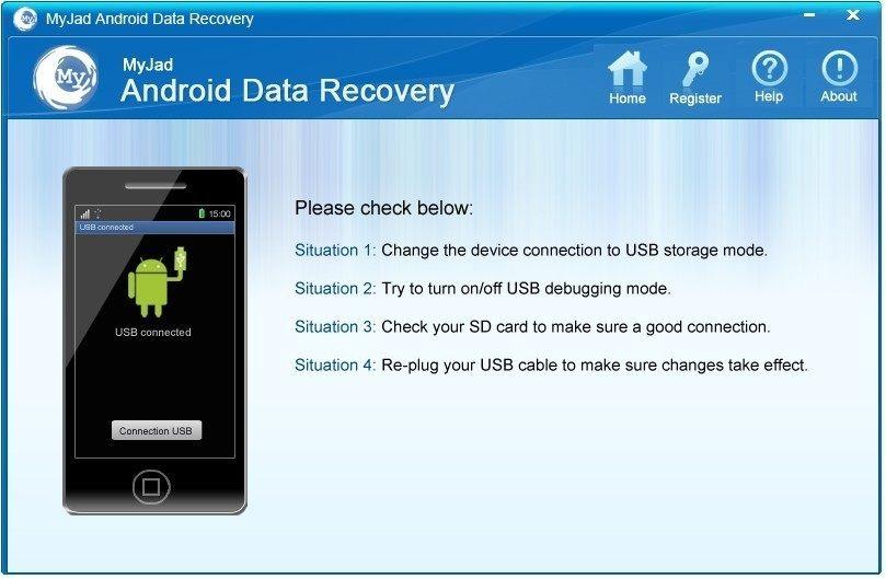 MyJad Android Data Recovery