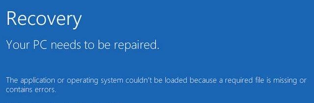 Betriebssystem kann nicht geladen werden