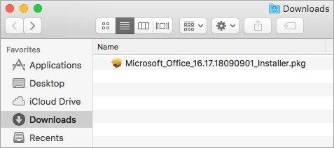 reinstall Microsoft Office on Mac 3