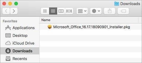 reinstalar Microsoft Office en Mac 3