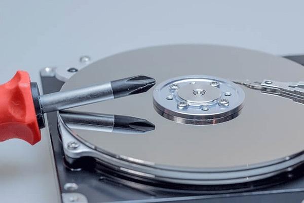 damaged hard drive