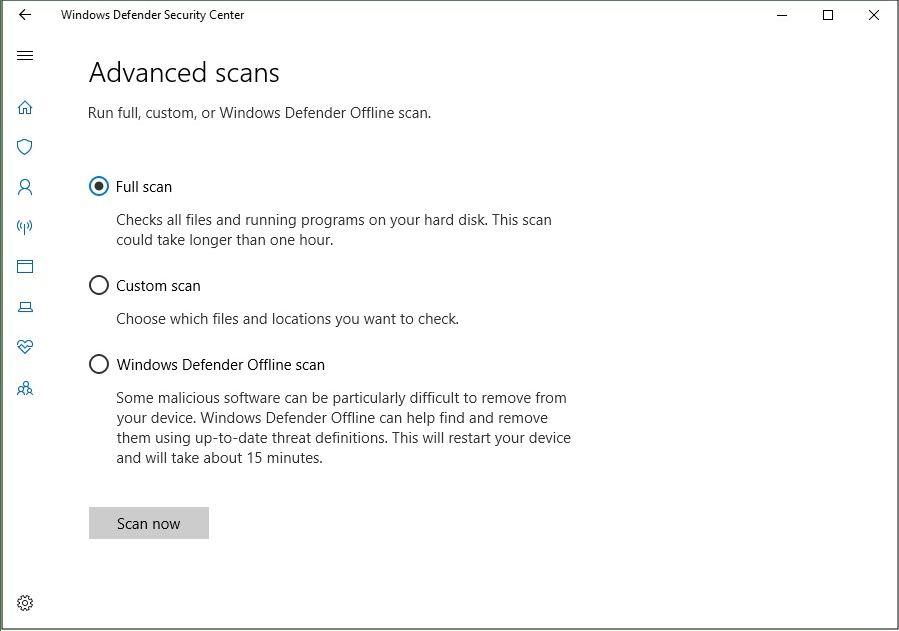run-antivirus-software