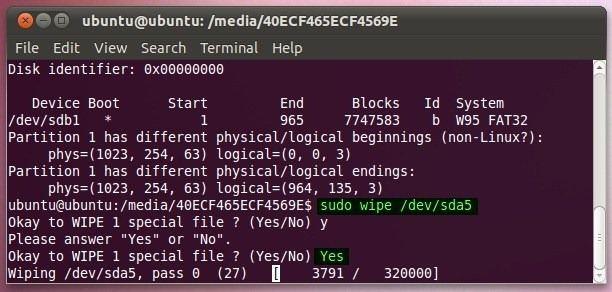 wipe-linux-drive