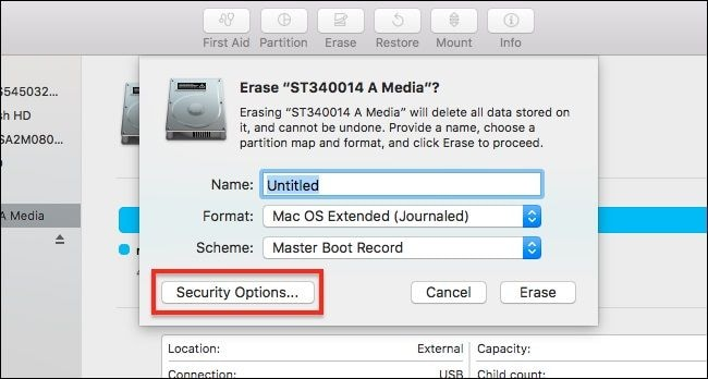 Format the Hard Disk