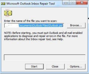 outlook folder missing 8
