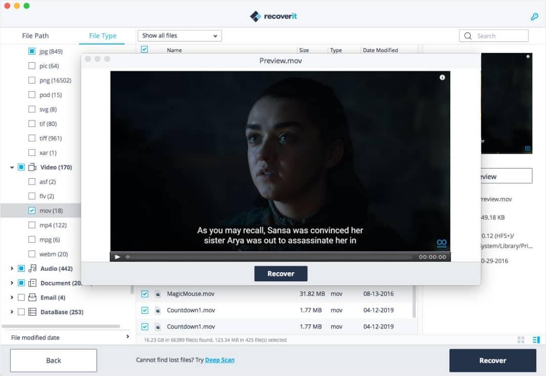 Restaurez vos fichiers vidéo figés