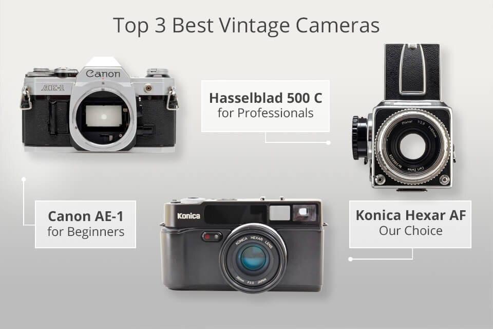 top 3 vintage camera