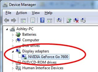 Update your graphics card drivers