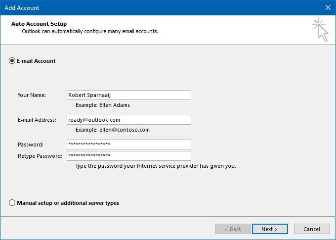 add-auto-account-setup