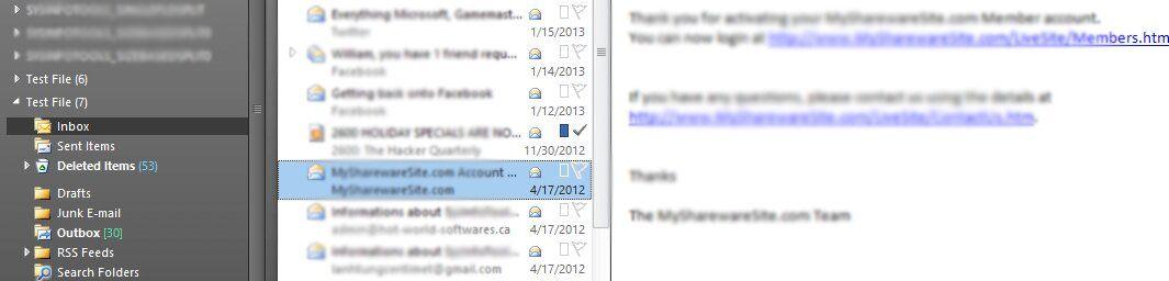 Outlook-inbox