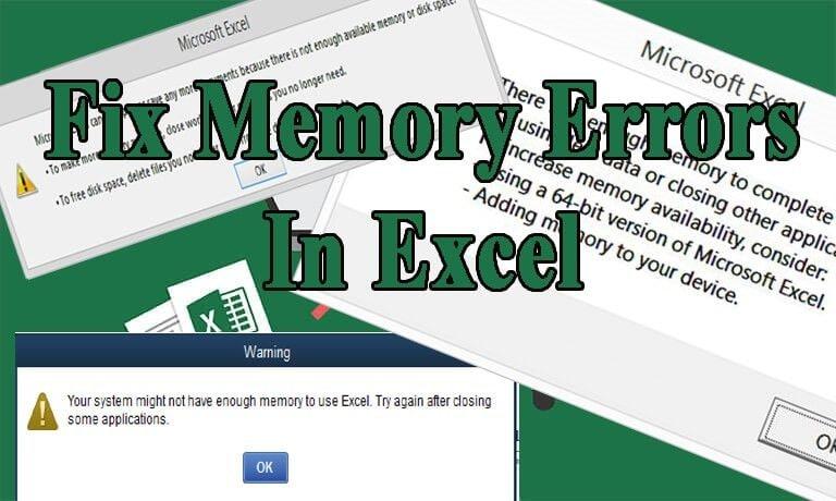 resolver-memória-insuficiente-excel