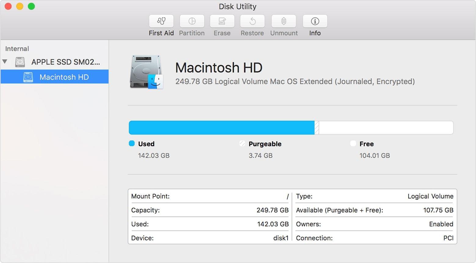 repairing disk permissions mac