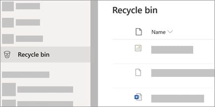 recover from OneDrive