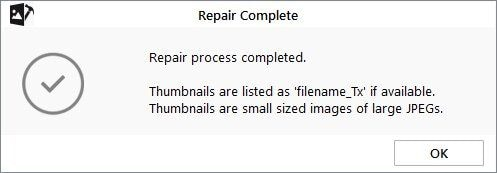 facebook photos repair complete