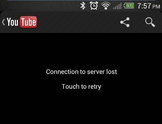 Video-Fehlercode