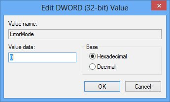 error mode