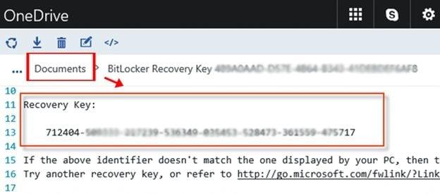 access data on bitlocker