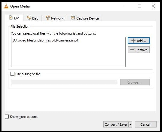 Reparar Vídeos com o VLC - 1