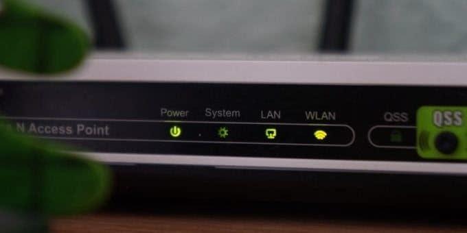 Router und Modem neu starten