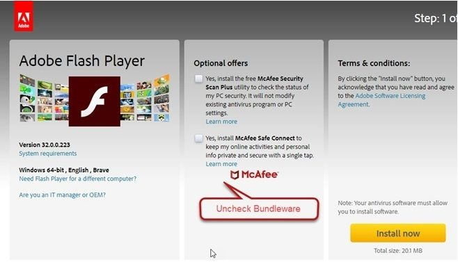 How to Update the Adobe flash player