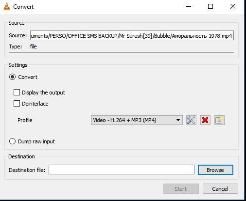 select the preferred input codec