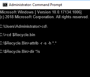 recycle bin recovery free 2